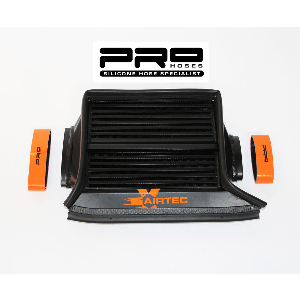 Pro hoses airtec silicone hoses snoot boot r53 supercharge rtop mount intercooler gen1