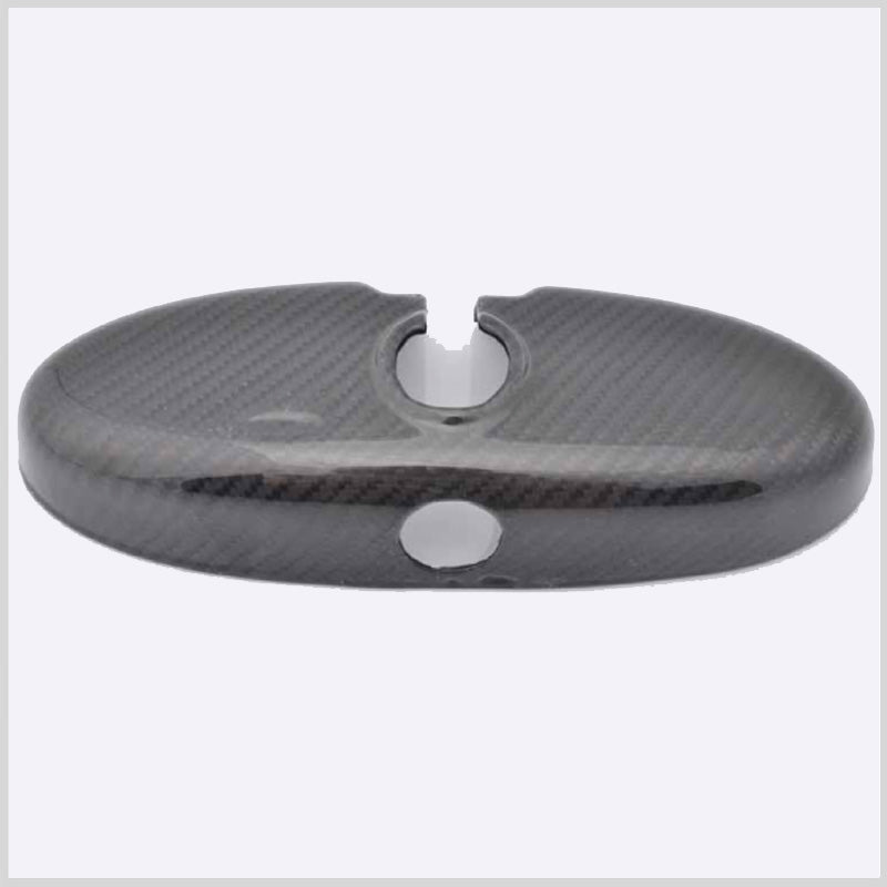 Rear view mirror cover in genuine Carbon Fiber for Mini R56