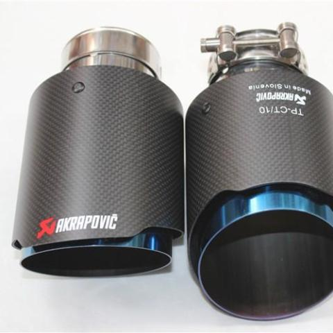 Universal Carbon fibre trimmed Exhaust Tips
