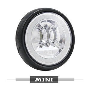 Led MINI Rally Driving DRL Halo Ring Angel Eyes Lights