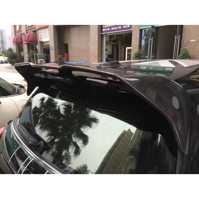 Mini Countryman R60 rear spoiler in fiberglass or carbon fiber