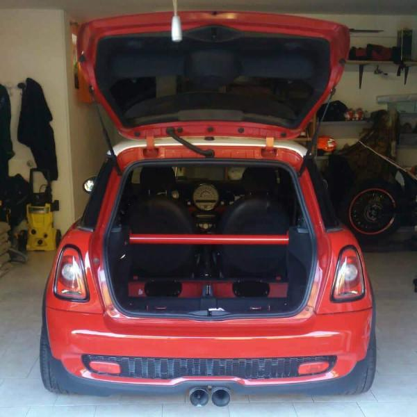 Rear GP bar strut brace for Mini Cooper from MW-UK