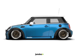 Mini works wide wheel arch fender kit for Mini