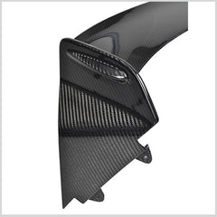 Rear wing spoiler for Mini R56, Mini R53 and R60 in carbon fiber or fiberglass