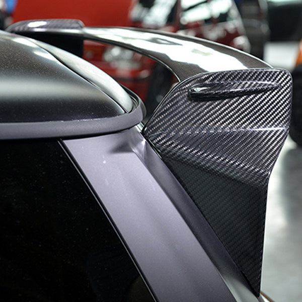 Mini cooper F56 carbon fiber rear spoiler GP wing style