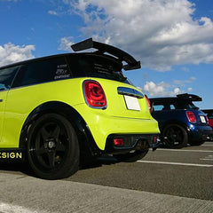 RK Design rear wing spoiler Mini Cooper S and John Cooper Works F56 from MW-UK UK