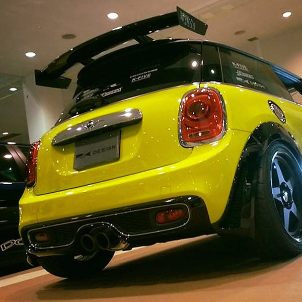 RK Design rear wing spoiler Mini Cooper S and John Cooper Works F56 from Mini Works UK