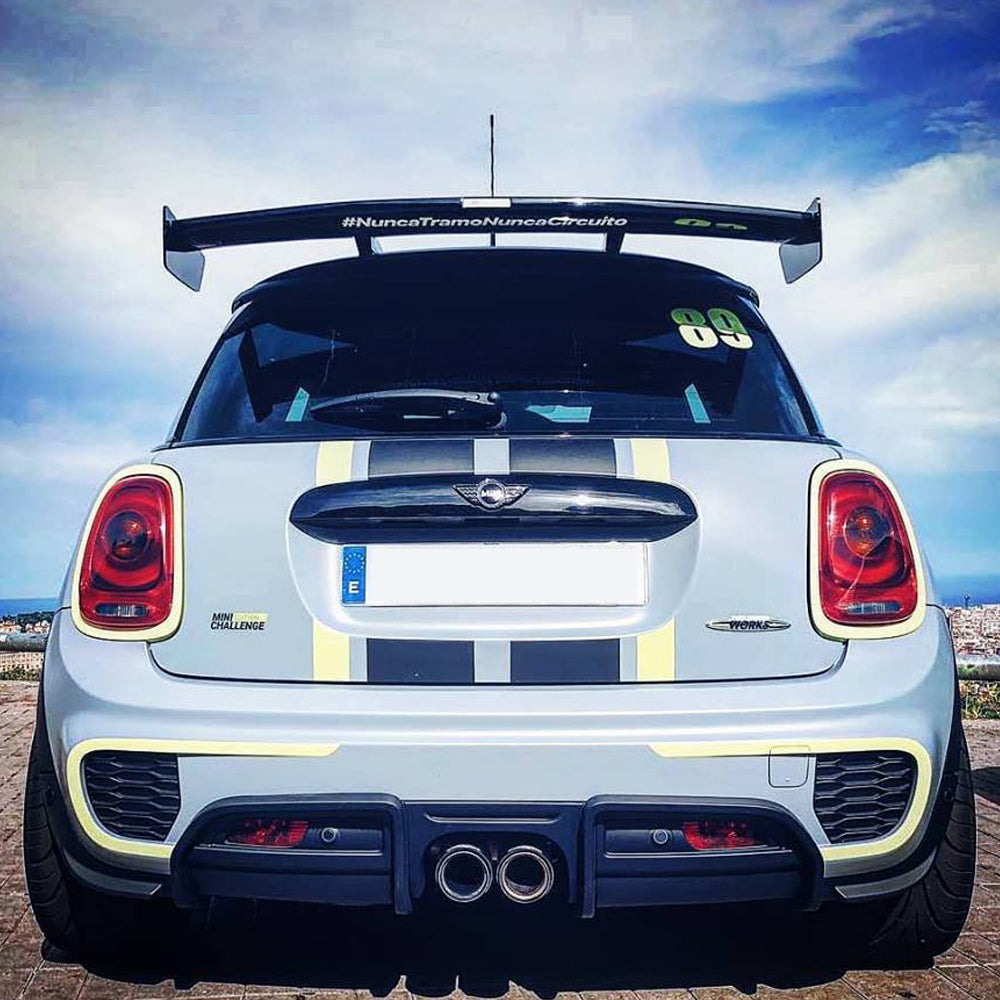 MINI NEW OEM COOPER S R55 R56 R57 FRONT BUMPER LOWER JCW AERO II EXTENSION Right