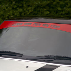 Design your own personalised sunstrip for Mini, Mini Cooper, John cooper works
