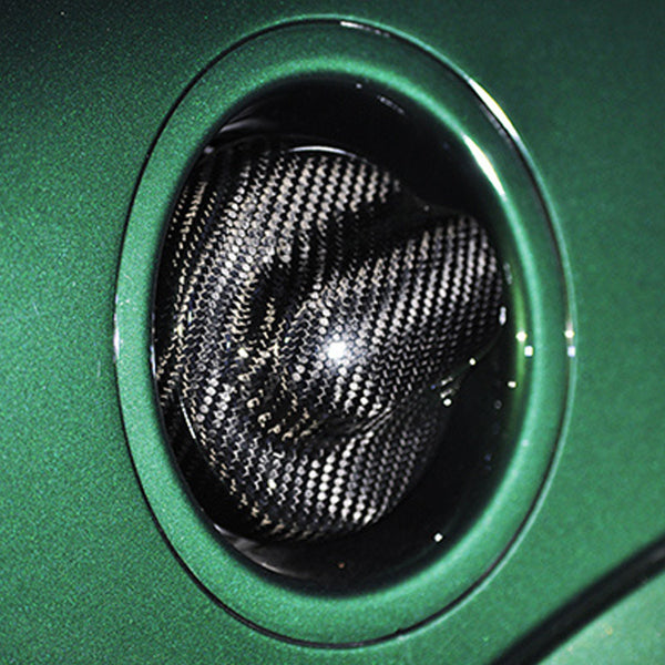 Mini Cooper carbon fiber fuel tank cap