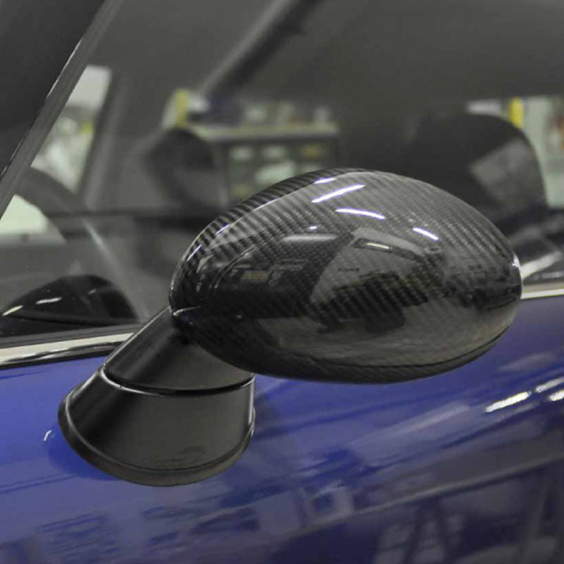 MINI cooper carbon fiber wing mirror shells