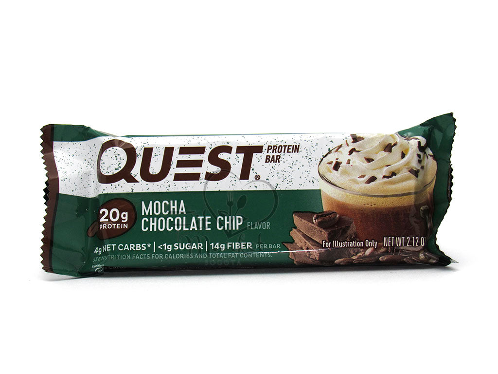Barra Proteína 60gr (QUEST) Mocha Chocolate Chip