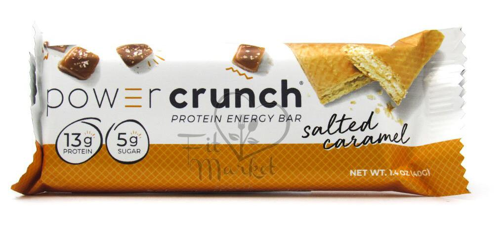 Barra Proteína 40gr (POWER CRUNCH) Caramelo Salado