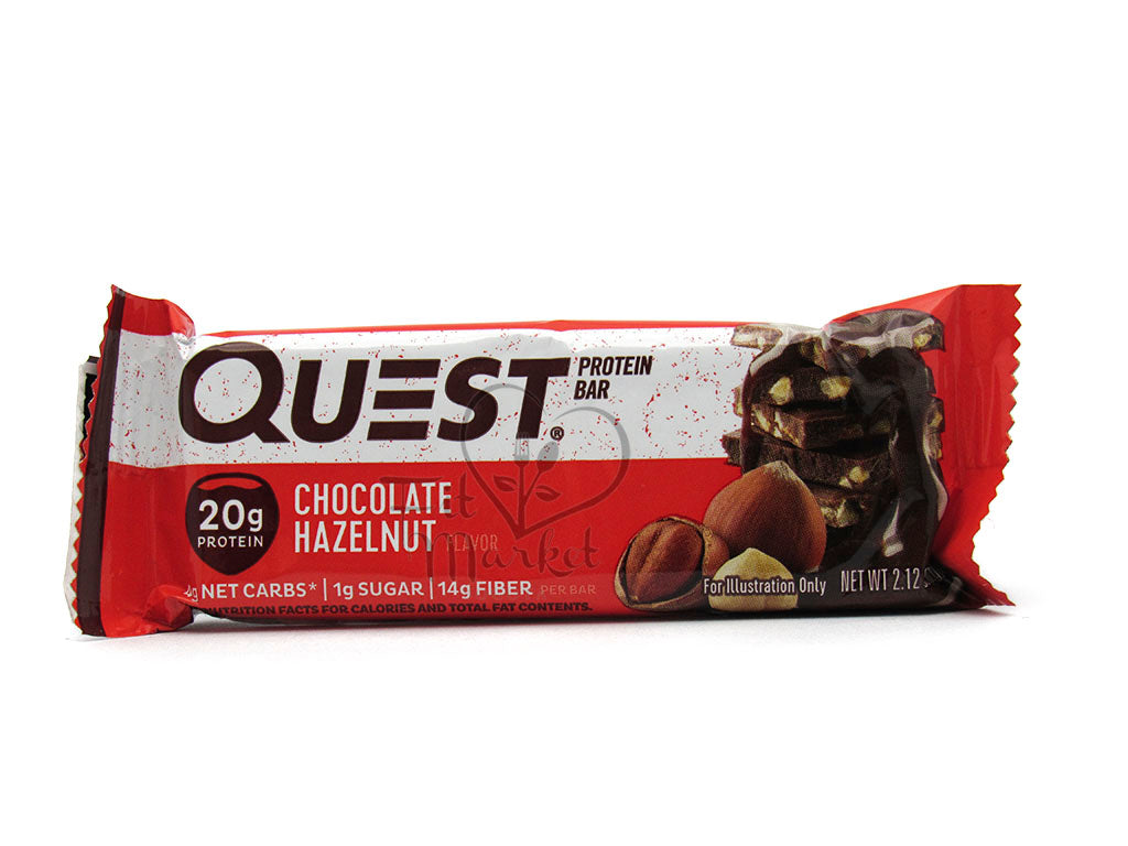 Barra Proteína 60gr (QUEST) Chocolate Hazelnut