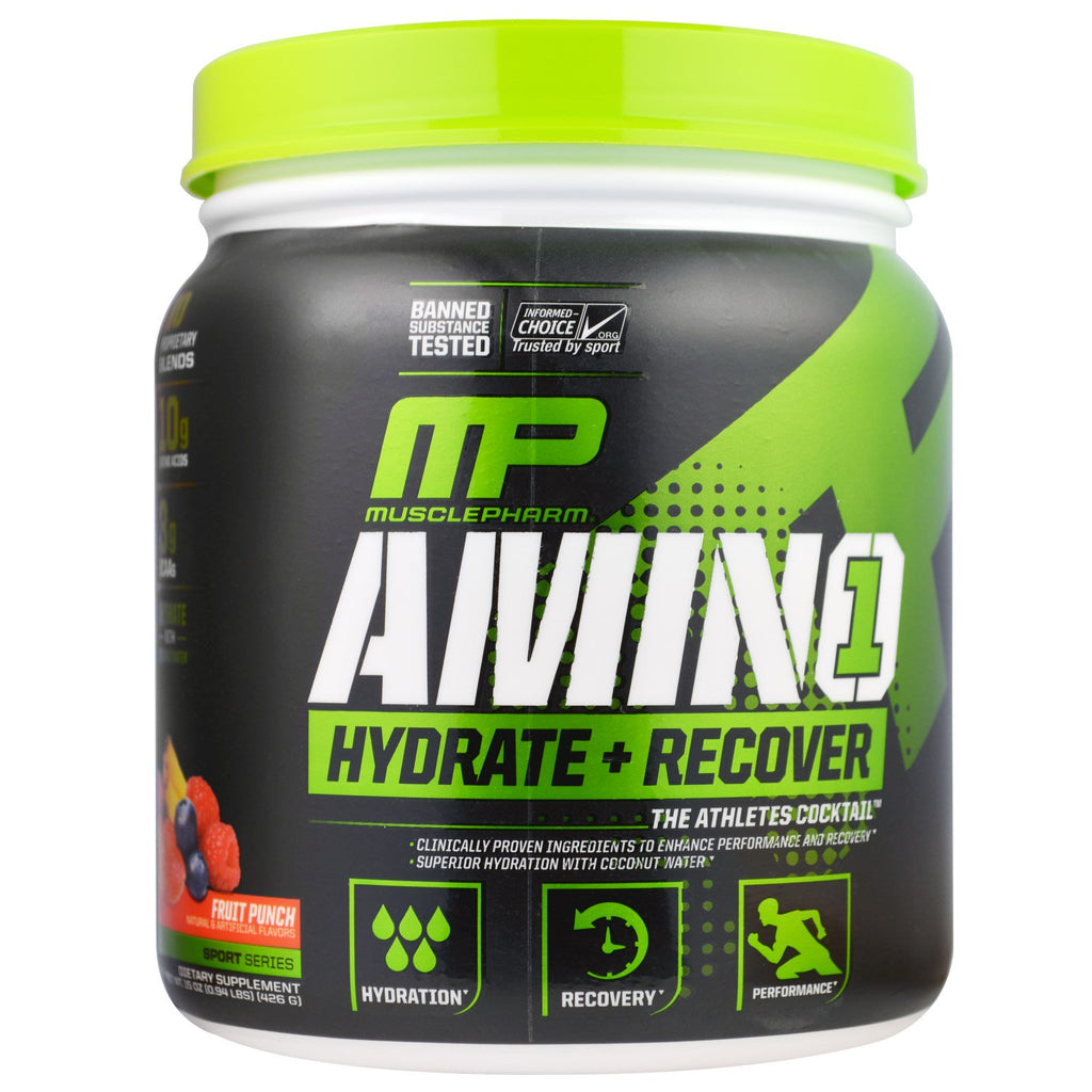 Aminos 426gr (MUSCLEPHARM) Fruit Punch