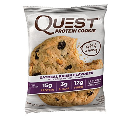 Galleta 59gr (QUEST) Oatmeal Raisin