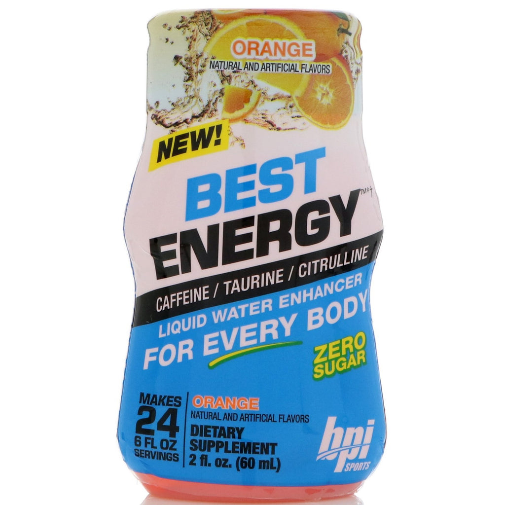 LWE Best Energy 60ml (BPI SPORTS) Orange