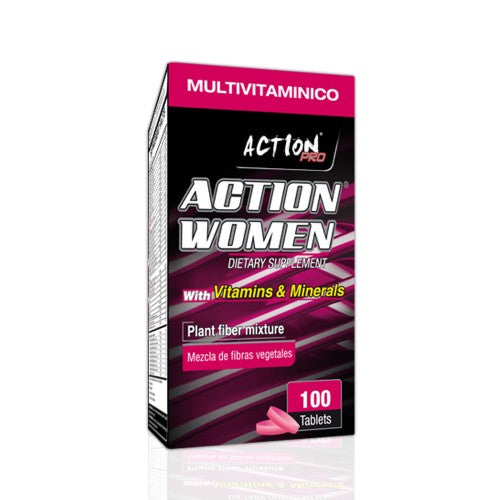 Multivitamínico 100tab (ACTION WOMEN)
