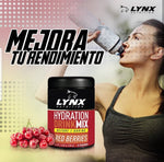 Hydration Drink 300gr (LYNX) Frutos Rojos
