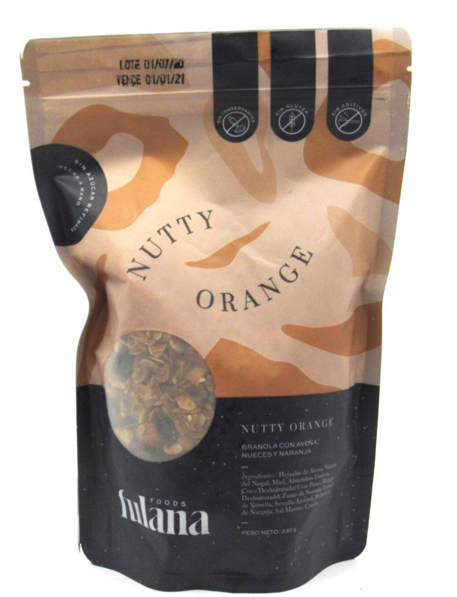 Granola 330gr (DONDE FULANA) Nutty Orange