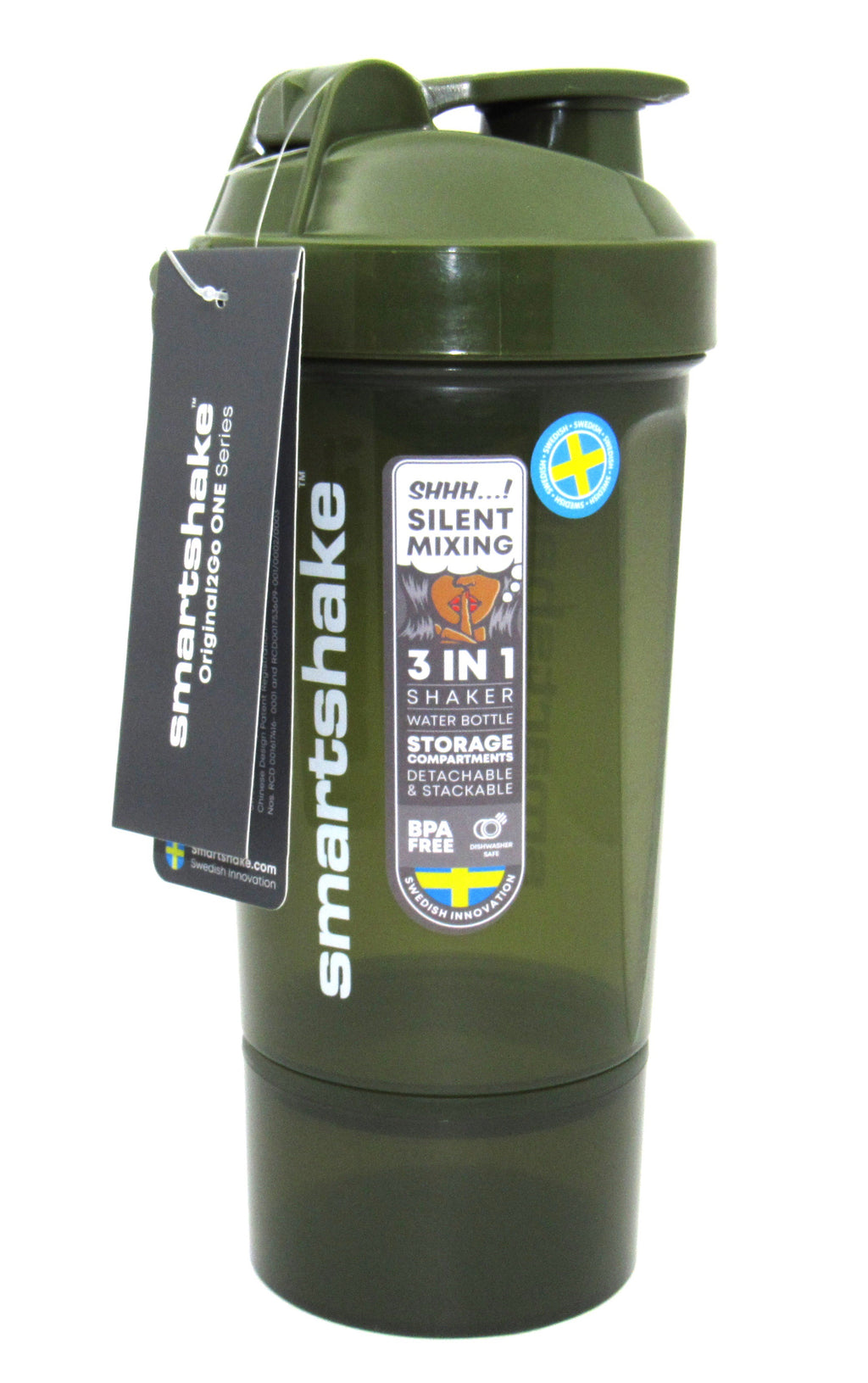 Termo 2GO ONE 800ml (SMARTSHAKE) Army Green