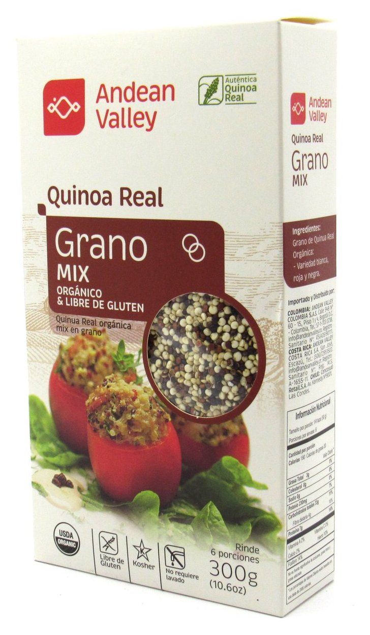 Grano de Quinua Real 300gr (ANDEAN VALLEY) Mix