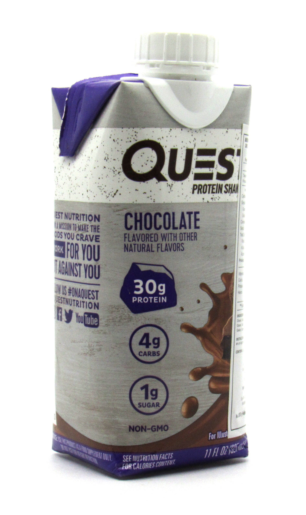 Malteada de Proteína 325 ml (QUEST) Chocolate