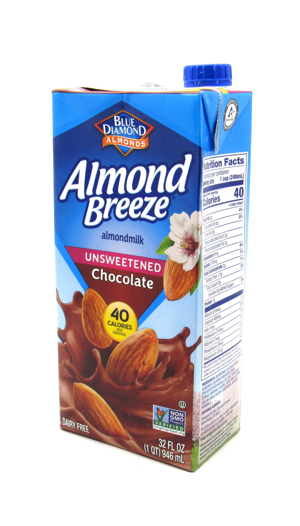 Leche Almendra 946ml (ALMOND BREEZE) Chocolate