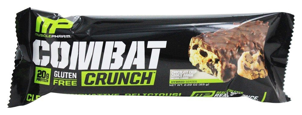 Barra de Proteína 63gr (COMBAT) Choco Chip Cookie