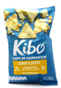 Chips De Garbanzos 28gr (KIBO) Queso