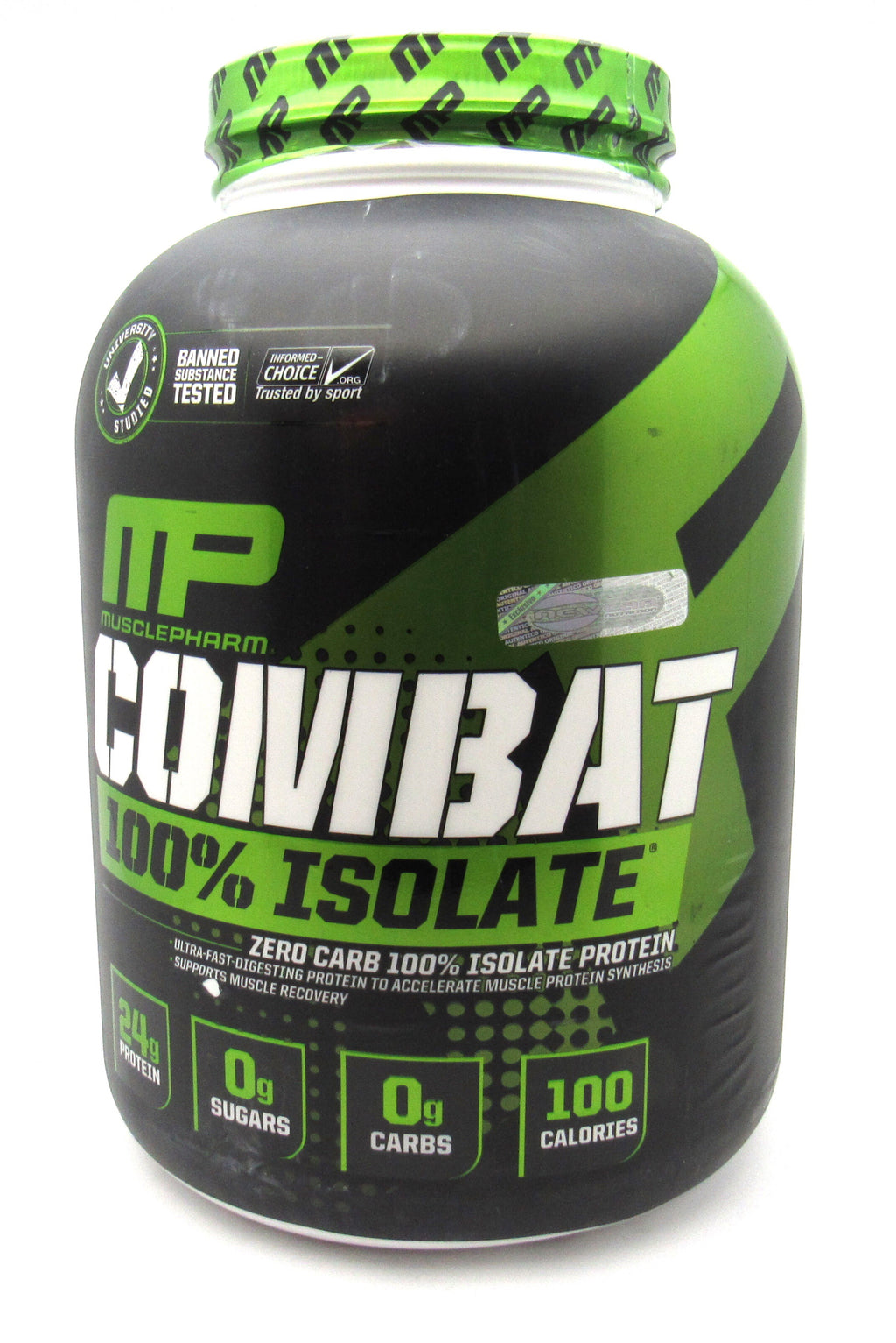 Proteína Combat Isolate 5Lb (MUSCLEPHARM) Vainilla