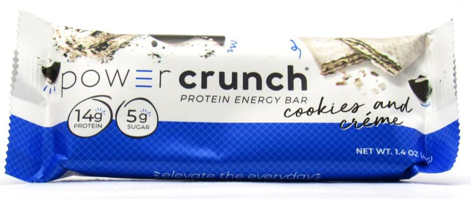 Barra Proteína 40gr (POWER CRUNCH) Cookies & Cream