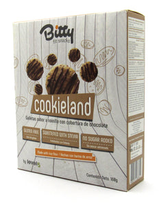 Bitty Caja Galletas Cookieland 160gr (BITTY FIT SNACKS) Tradicional