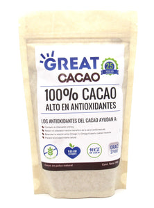 Cacao Polvo 150gr (GREAT) Antioxidante