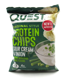 Papas 32gr (QUEST) Sour Cream & Onion