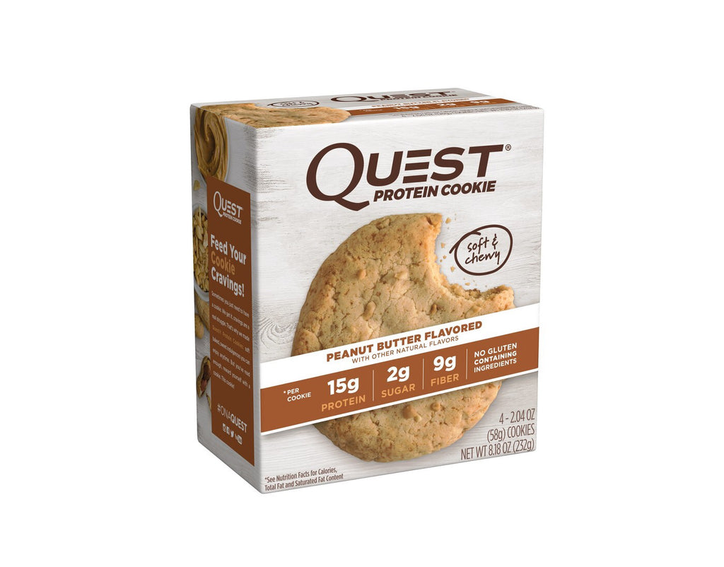 Galleta 59gr (QUEST) Peanut Butter X4