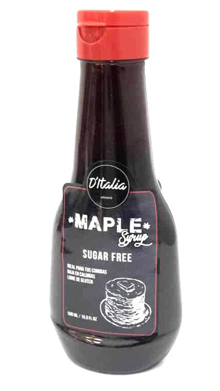 Syrup Maple Sugar Free 500ml (DITALIA)