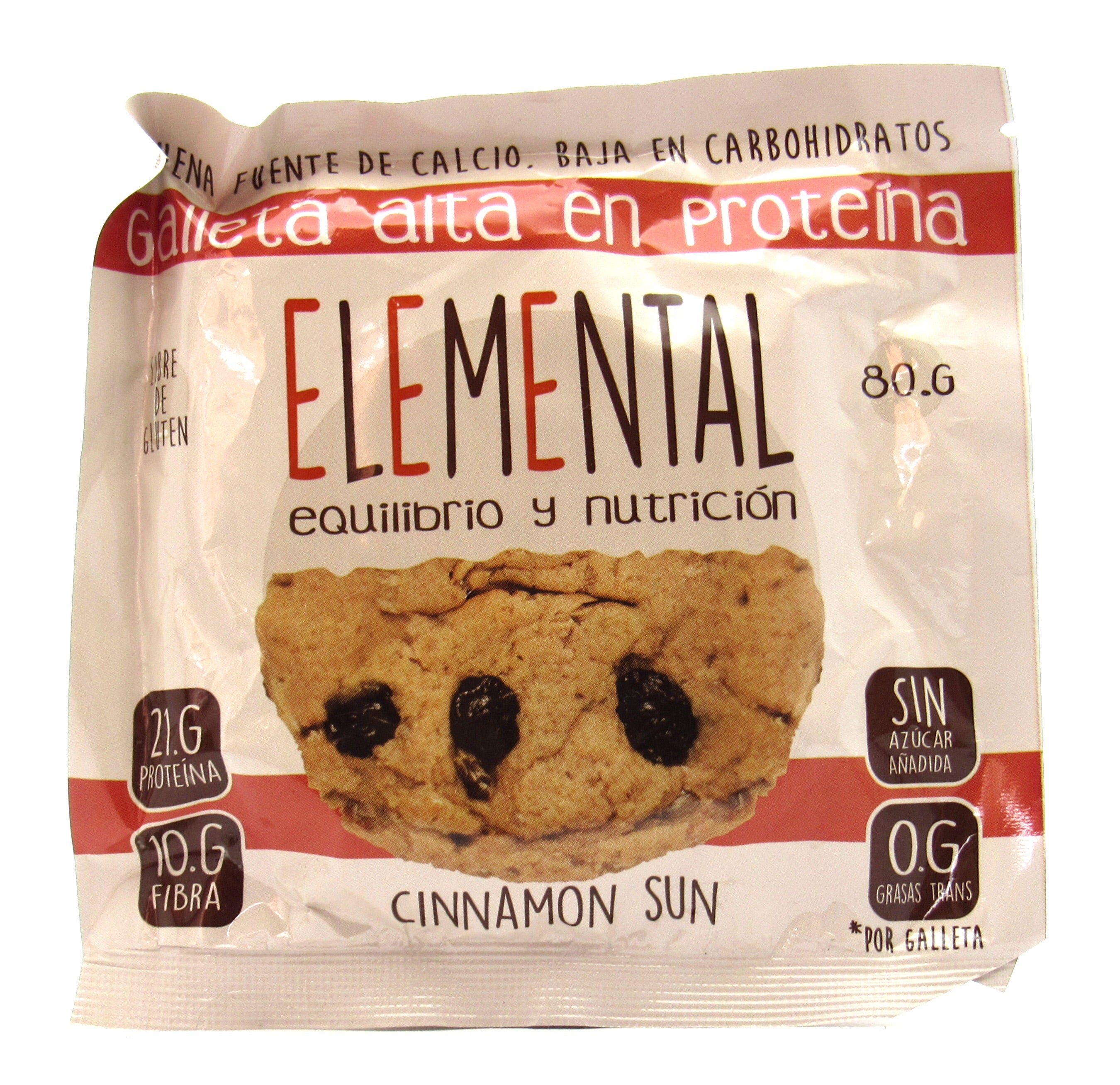 Galleta 80gr (ELEMENTAL)  Cinnamon Sun