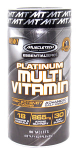 Platinum Multi-vitamin 90 Tablets (MUSCLETECH)