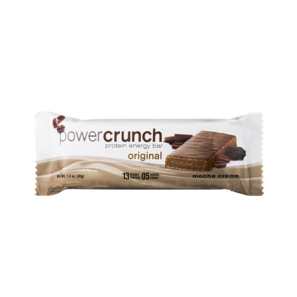 Barra Proteína 40gr (POWER CRUNCH) Moka