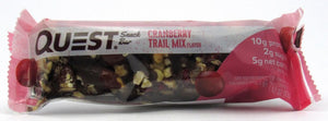 Barra Proteína 43gr (QUEST) Cranberry Trail Mix