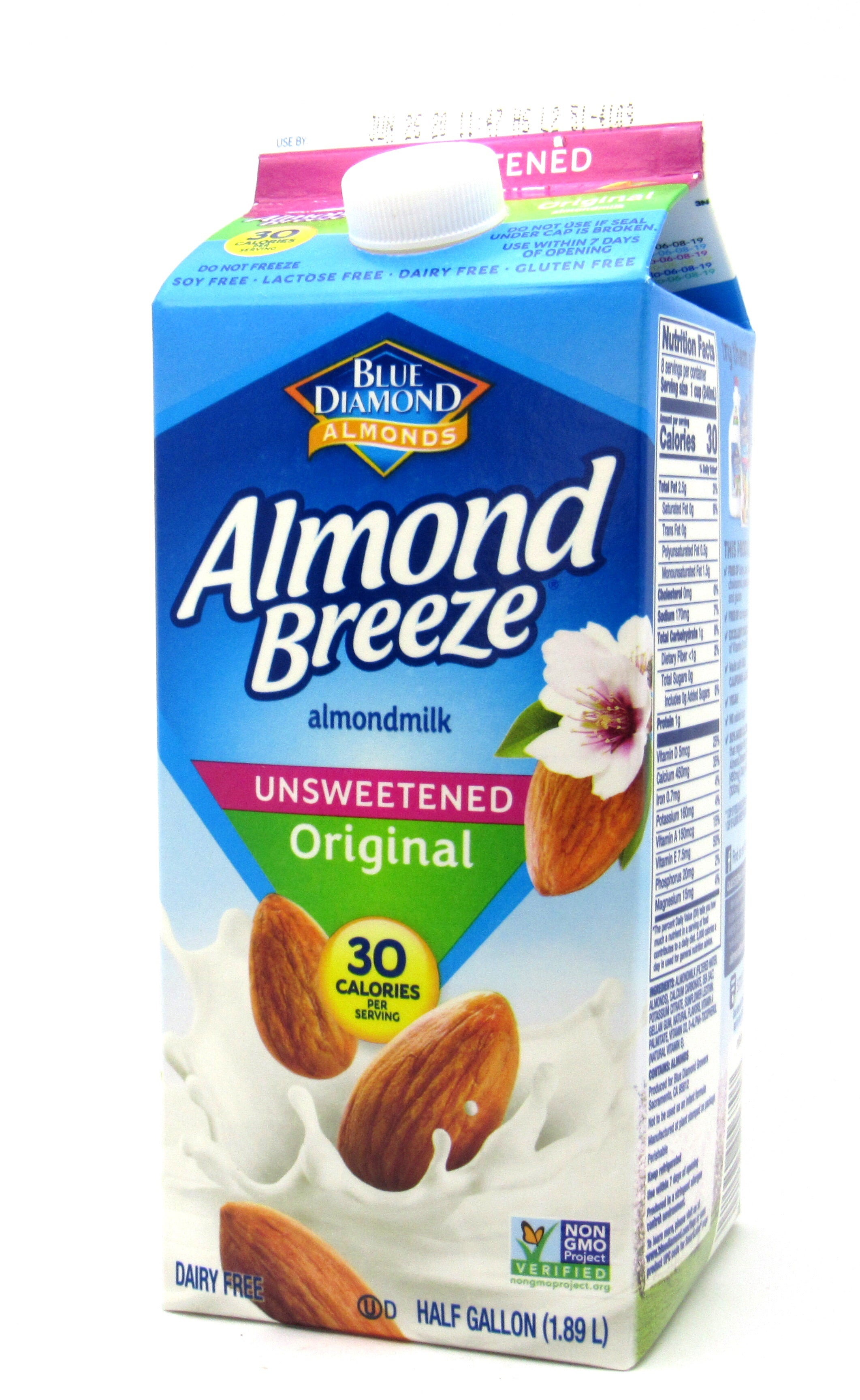 Leche Almendra 1.89L (ALMOND BREEZE) Original