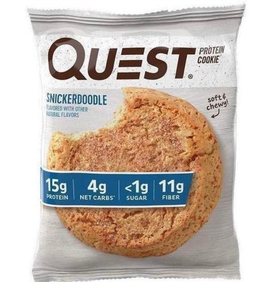 Galleta 59gr (QUEST) Snickerdooble