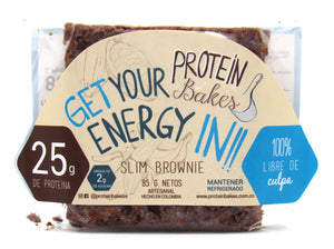 Slim Brownie 85gr (PROTEIN BAKES)