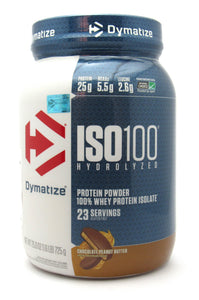 Proteína 1.6Lb (ISO100 - DYMATIZE) Chocolate Peanut Butter
