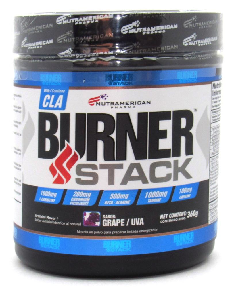 Cla Burner Stack 360gr (NUTRAMERICAN) Grape