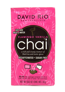 Té Chai 28gr (DAVID RIO) Flamingo Vainilla Decaf