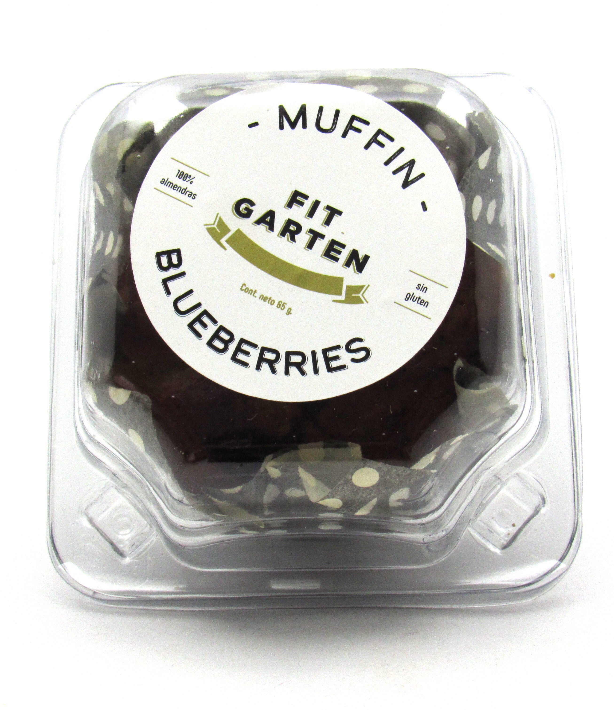 Muffin 65gr (FIT GARTEN) Blueberries