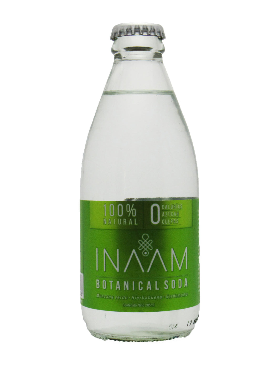Botanical Soda 285ml (INAAM) Manzana Verde