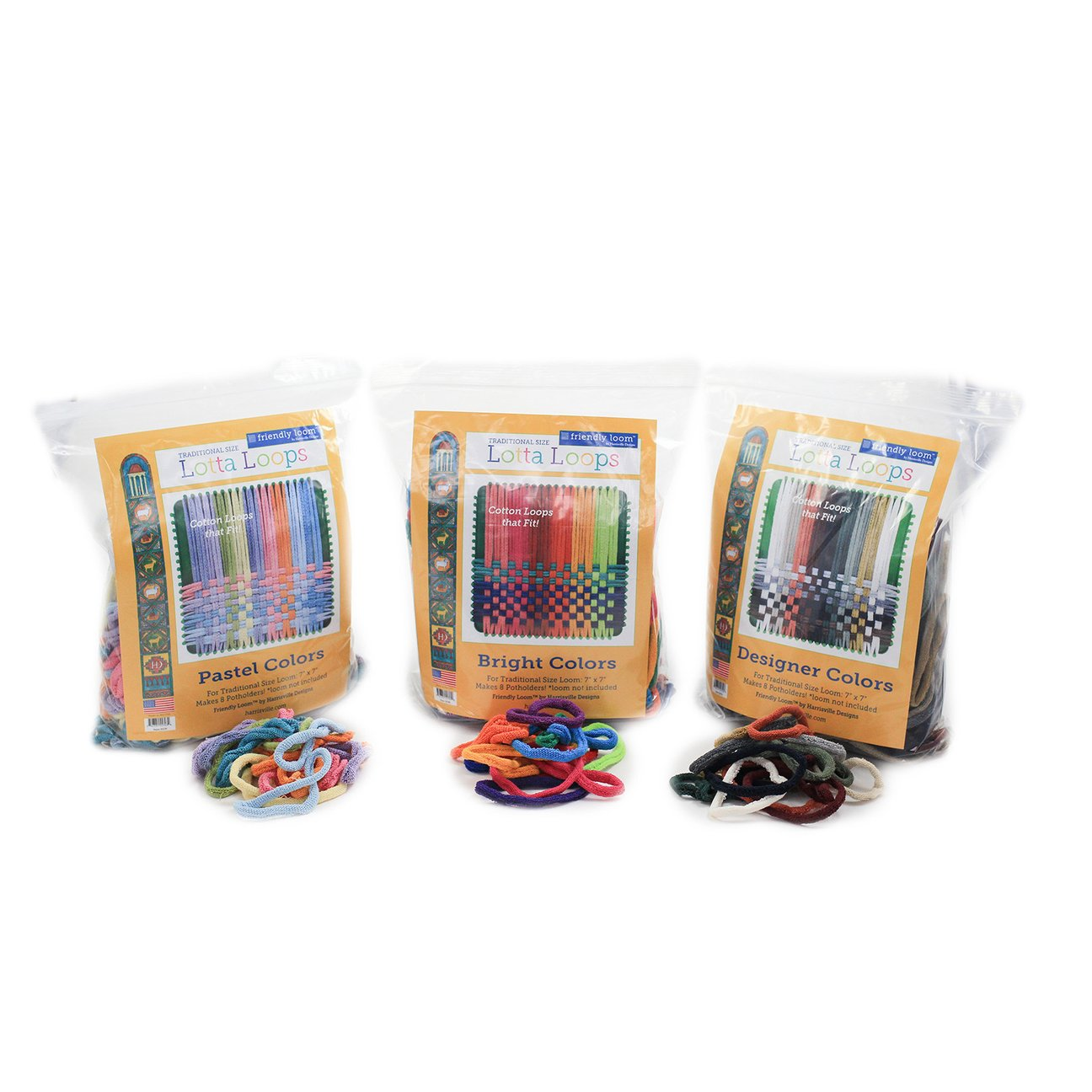 Lotta Loops for Original and PRO Potholder Looms